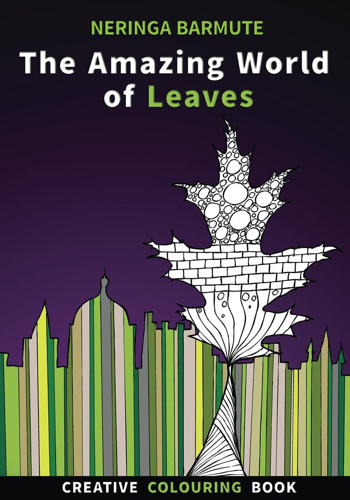 The Amazing World of Leaves: Creative Colouring Book