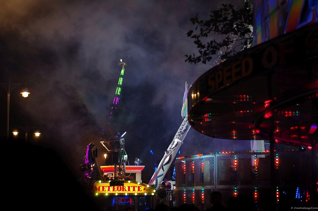 St. Giles fair in Oxford, 2016