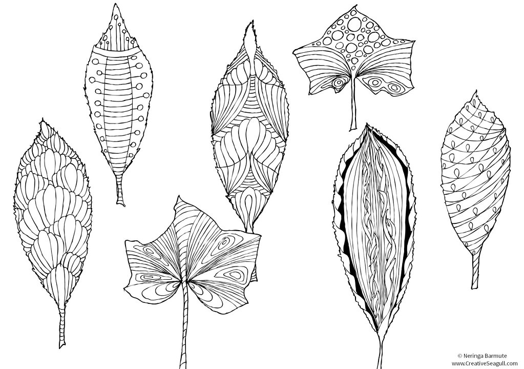 Decorative leaves